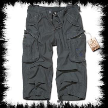 Brandit Dreiviertel Shorts Industry Antrazit