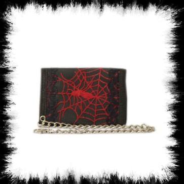Ketten Portemonnaie Red Spider