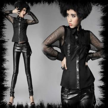 Punk Rave Lady Oberhemd
