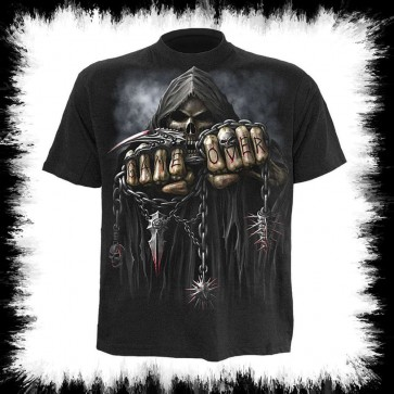 Game Over Heavy Metal T Shirt