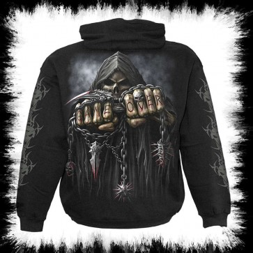 Gameover Kapuzen Sweater