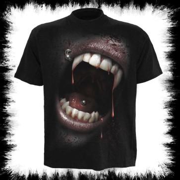 Gothic T Shirt Vampir Kiss