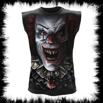 Metal Sleeveles Shirt Circus Of Horrors T