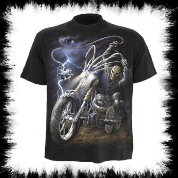 Ride To Hell Biker T Shirt