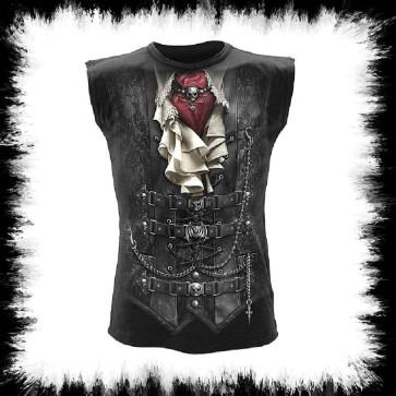Waisted ärmelloses Shirt