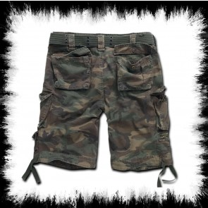 Brandit Shorts Savage Woodland Camo