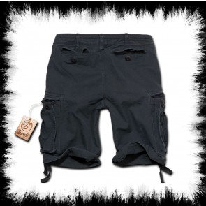 Brandit Shorts Vintage Classic Schwarz