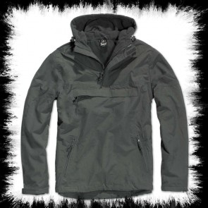 Brandit Windbreaker Jacke Anthrazit