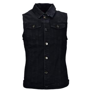 Veste de jeans noir homme