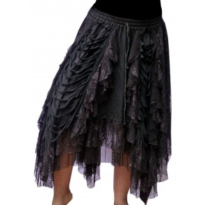 Long gothic lady skirt