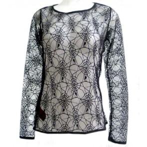 Gothic Spinnennetz Hemd