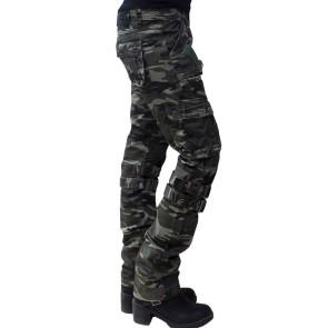 Damen Camoflage Hose
