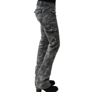 Damen Camoflage Stretch Hose