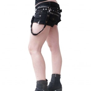 Gothic Damen Hot Pants Bondage