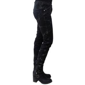 Gothic Jeans Snowwash Effekt