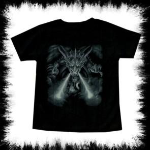 Kinder T Shirt Feuer Drache