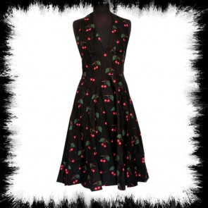 Kleid Mit Kirschen