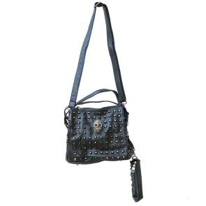 Kleine Nieten Handtasche Mit Portemonnaie