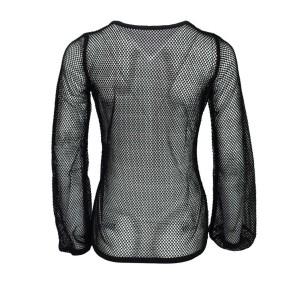Langärmliges Gothic  Männer Netz Shirt