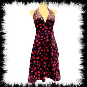 Neckholder Kleid Big Cherrys
