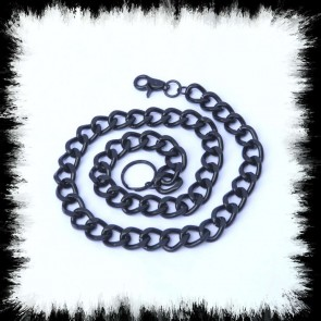 Portmonnaiekette Big Black Chain