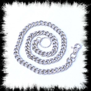 Portmonnaiekette Medium Silver Chain
