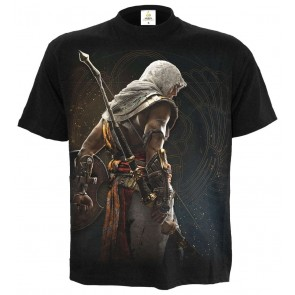 ORIGINS - BAYEK - ASSASSINS CREED T-SHIRT SCHWARZ