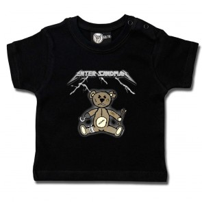 Baby T Shirt, Enter Sandman Metallica Tribute