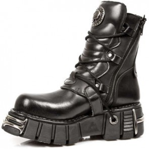 M.1010-C1 New Rock Stiefel Metallic
