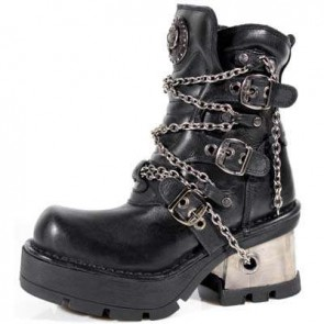M.1015-C2 New Rock Stiefel Metallic