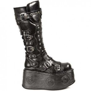 M.1018-C2 New Rock Hoher Stiefel Space