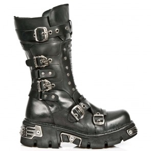M.1020-S2 New Rock Stiefel Metallic