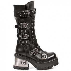 M.1021-C1 New Rock Hoher Stiefel Metallic