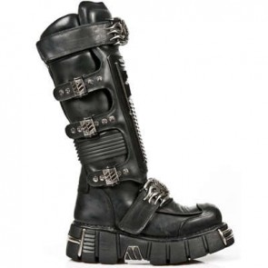 M.1024-S1 New Rock Hoher Stiefel Metallic