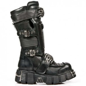 M.1025-C1 New Rock Stiefel Metallic