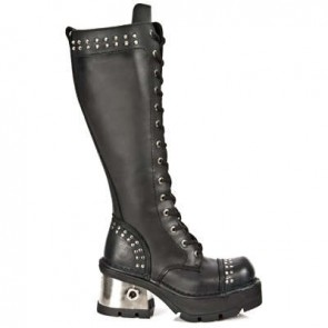 M.1028-C1 New Rock Stiefel Metallic