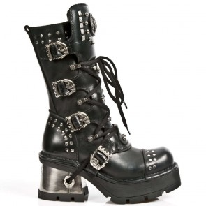 M.1029-C1 New Rock Stiefel Metallic