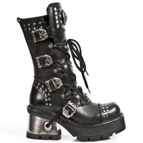 M.1029-R1 New Rock Stiefel Metallic