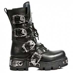 M.1032-C10 New Rock Stiefel Metallic