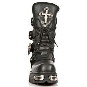 M.1032-R10 New Rock Stiefel Metallic