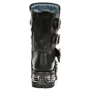 M.1032-S1 New Rock Stiefel Metallic