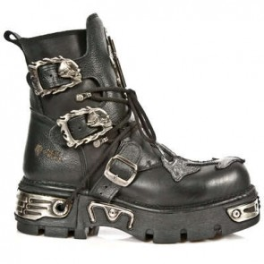 M.1033-C1 New Rock Stiefel Metallic