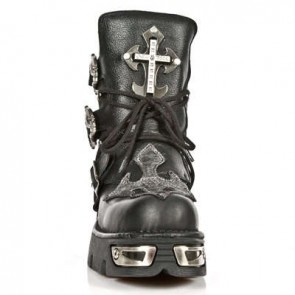 M.1033-S1 New Rock Stiefel Metallic
