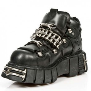 M.1035-S1 New Rock Schuh Metallic
