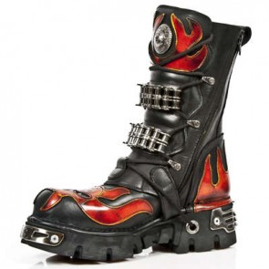 M.1036-C1 New Rock Stiefel Metallic