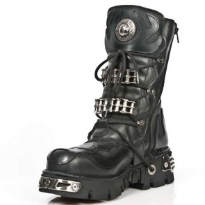 M.1036-S1 New Rock Stiefel Metallic