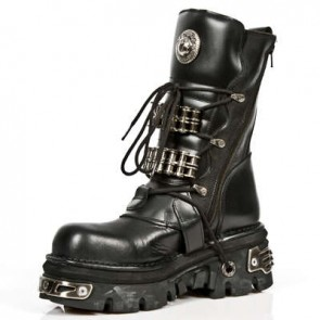 M.1037-C10 New Rock Stiefel Metallic
