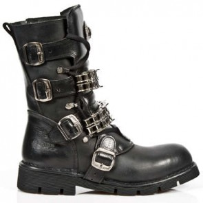 M.1039-C1 New Rock Stiefel Metallic