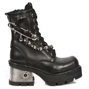 M.1043-C1 New Rock Stiefel Metallic