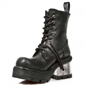 M.1045-C1 New Rock Stiefel Metallic